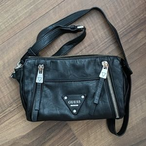 5/$100 Black Vegan Leather Guess Purse